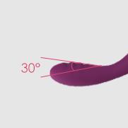 Svakom Cici mềm uốn cong ngón tay G-spot