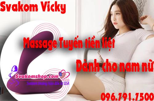 SVAKOM Vicky Linh hoạt Động cơ kép Massage Tuyến tiền liệt