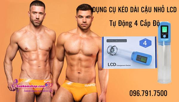 Dụng Cụ Kéo Dài Cậu Nhỏ LCD Tự Động 4 Cấp Độ