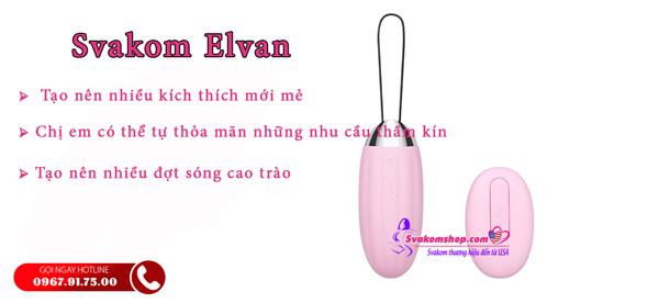 Trứng rung tình yêu Svakom Elvan