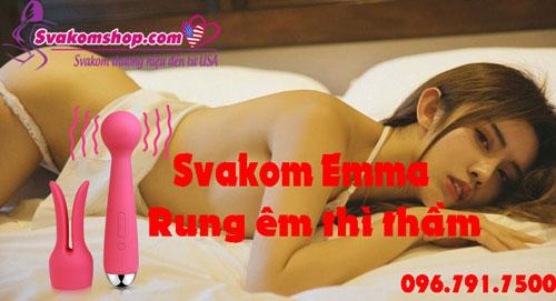 Svakom Emma máy rung, que rung có chức năng làm ấm