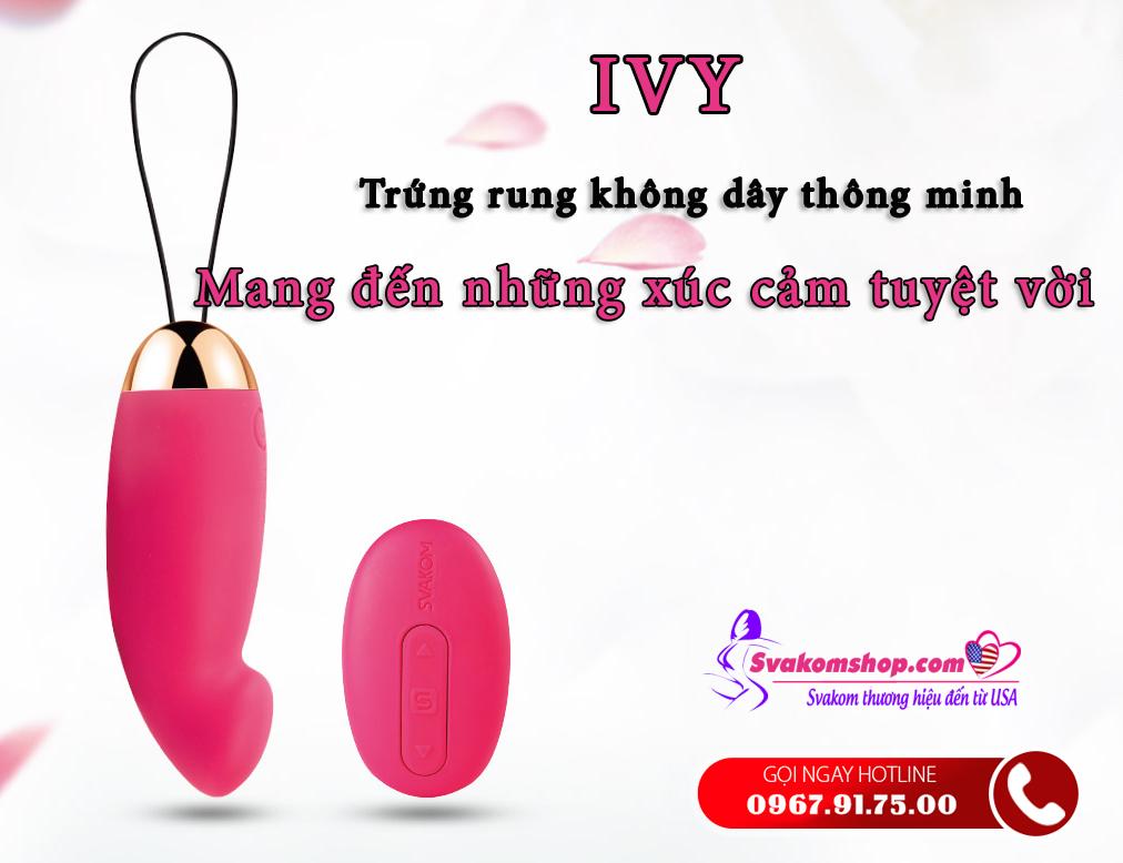 Trứng rung tình yêu Svakom Ivy