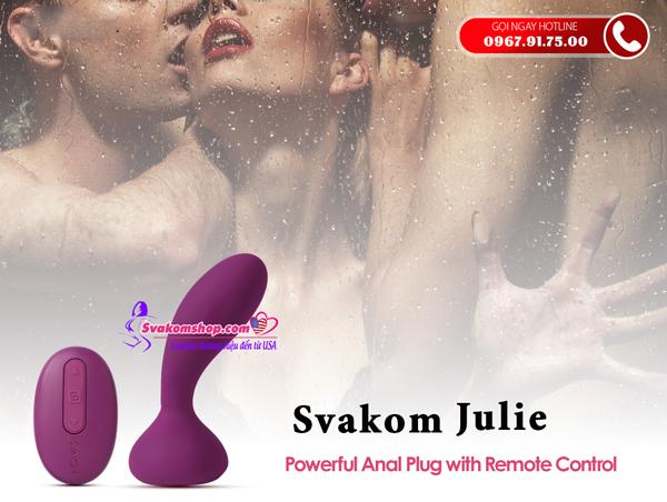 Máy massage hậu môn Svakom Julie
