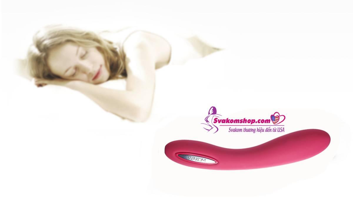 Máy massage rung tỏa nhiệt Svakom Leslie