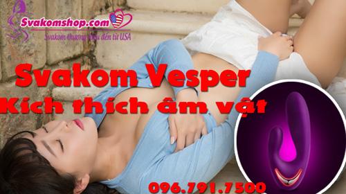 Svakom Vesper máy rung sưởi ấm kích thích AV