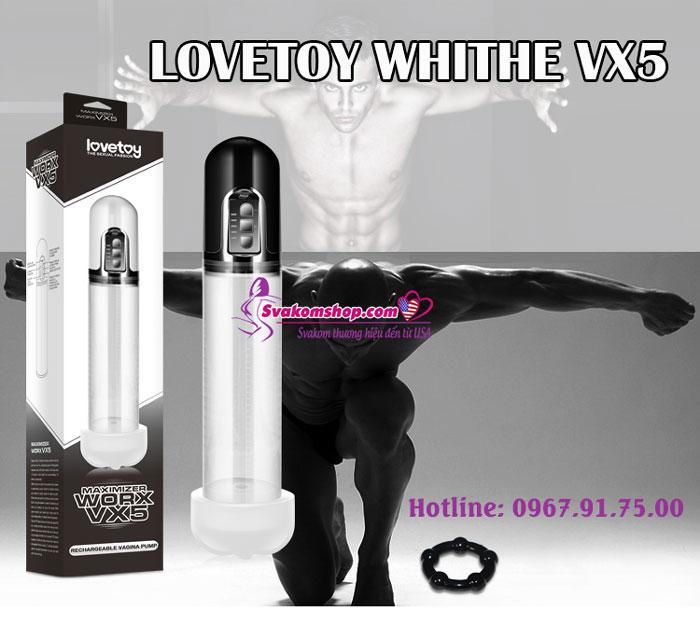 Lovetoy White VX5-4