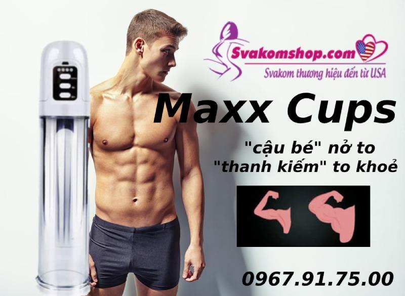 Máy tập tăng kích thước dương vật Maxx Cups