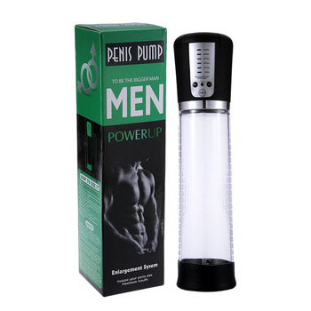 Man Penis pump Exercise Power up